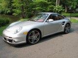 2007 Arctic Silver Metallic Porsche 911 Turbo Coupe #49991985