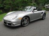2008 GT Silver Metallic Porsche 911 Turbo Cabriolet #49991987