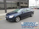 2008 Imperial Blue Metallic Chevrolet Malibu LT Sedan #49992380