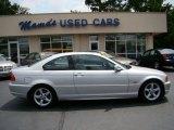 2003 Titanium Silver Metallic BMW 3 Series 325i Coupe #49992247