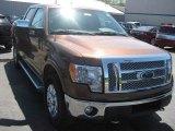2011 Golden Bronze Metallic Ford F150 Lariat SuperCrew 4x4 #49992252