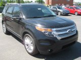 2011 Tuxedo Black Metallic Ford Explorer XLT #49992255