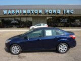 2012 Kona Blue Metallic Ford Focus SE Sedan #49992259