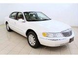 2001 White Pearl Tri-Coat Lincoln Continental  #49992420
