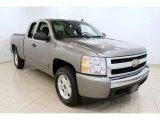 2008 Graystone Metallic Chevrolet Silverado 1500 LT Extended Cab 4x4 #49992424