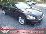 2011 Crimson Black Nissan Maxima 3.5 S #50036733
