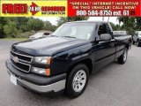 2006 Dark Blue Metallic Chevrolet Silverado 1500 LS Regular Cab #50037617