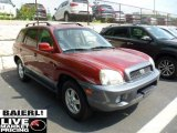 2004 Merlot Red Hyundai Santa Fe GLS 4WD #50037098