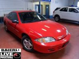 2002 Bright Red Chevrolet Cavalier Coupe #50037111