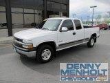 2002 Summit White Chevrolet Silverado 1500 LS Extended Cab 4x4 #50037521