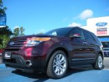 2011 Bordeaux Reserve Red Metallic Ford Explorer Limited #50037227