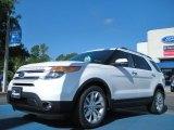 2011 White Platinum Tri-Coat Ford Explorer Limited #50037228