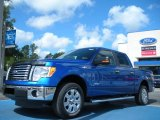 2011 Blue Flame Metallic Ford F150 XLT SuperCrew #50037232