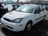 2004 Cloud 9 White Ford Focus LX Sedan #50037681