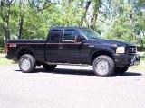 2004 Black Ford F250 Super Duty FX4 SuperCab 4x4 #50037392