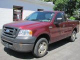 2006 Dark Toreador Red Metallic Ford F150 XL Regular Cab #50037694