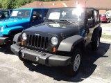 2011 Black Jeep Wrangler Sport 4x4 #50037543