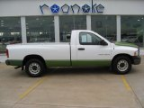 2003 Bright White Dodge Ram 1500 ST Regular Cab #50037284