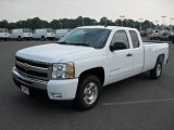 2011 Summit White Chevrolet Silverado 1500 LT Extended Cab #50037574