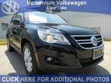 2011 Deep Black Metallic Volkswagen Tiguan SE #50037732