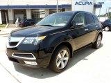 2011 Crystal Black Pearl Acura MDX Technology #50037437
