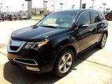 2011 Crystal Black Pearl Acura MDX Technology #50037440