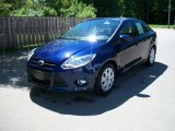2012 Kona Blue Metallic Ford Focus SE Sedan #50037596