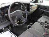 2005 Chevrolet Silverado 1500 Regular Cab Dark Charcoal Interior