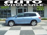 2010 Wave Line Blue Pearl Toyota Highlander Limited #50085957