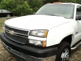2005 Summit White Chevrolet Silverado 3500 LS Crew Cab 4x4 Dually #50086155