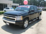 2010 Black Granite Metallic Chevrolet Silverado 1500 LT Crew Cab 4x4 #50085965
