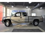 2000 Light Pewter Metallic Chevrolet Silverado 1500 Z71 Extended Cab 4x4 #50085763