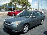 2005 Medium Gray Metallic Chevrolet Malibu LT V6 Sedan #50085571