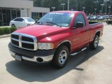 2002 Flame Red Dodge Ram 1500 ST Regular Cab #50085971