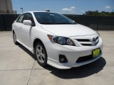 2011 Super White Toyota Corolla S #50085773