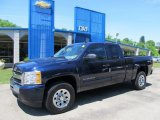 2011 Imperial Blue Metallic Chevrolet Silverado 1500 LS Extended Cab 4x4 #50085587