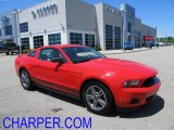 2011 Race Red Ford Mustang V6 Premium Coupe #50085428