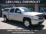 2008 Silver Birch Metallic Chevrolet Silverado 1500 LTZ Crew Cab 4x4 #50085641
