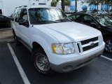 2001 Oxford White Ford Explorer Sport 4x4 #50085455