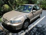 2002 Naples Gold Metallic Honda Accord LX Sedan #50085456