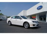 2011 White Platinum Tri-Coat Ford Fusion SEL V6 #50085654
