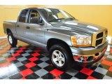 2006 Mineral Gray Metallic Dodge Ram 1500 SLT Quad Cab 4x4 #50086040