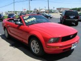 2006 Torch Red Ford Mustang V6 Premium Convertible #50086275