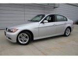 2008 Titanium Silver Metallic BMW 3 Series 328xi Sedan #50085540