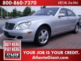 2004 Brilliant Silver Metallic Mercedes-Benz S 500 Sedan #50086305