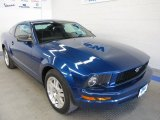 2007 Vista Blue Metallic Ford Mustang V6 Deluxe Coupe #50086080