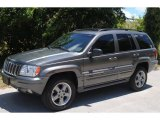 2002 Graphite Metallic Jeep Grand Cherokee Overland 4x4 #50085747