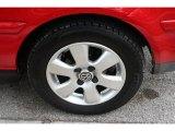 Volkswagen Cabrio 2001 Wheels and Tires