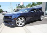 2010 Imperial Blue Metallic Chevrolet Camaro SS/RS Coupe #50150843