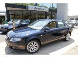 2008 Deep Sea Blue Pearl Effect Audi A4 2.0T quattro S-Line Sedan #50150964